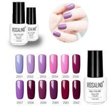 7ml Phototherapy Nail Polish Gel Purple Long Lasting Soak-Off Accessories Beauty Tools