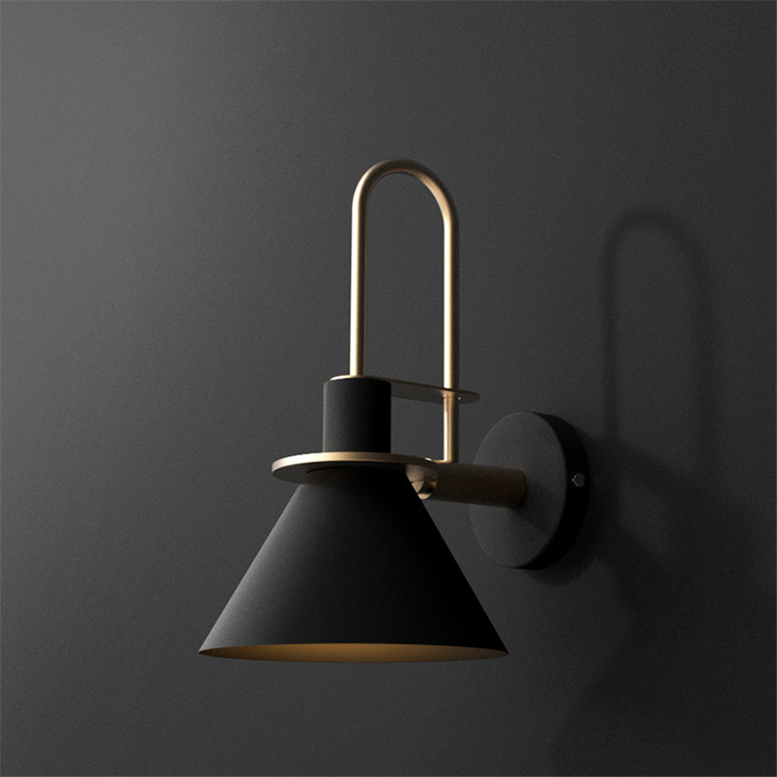 Modern Clarion Wall Lamp Industrial Light LED E27 Bedroom Living Room Restaurant Lights & Lighting Kitchen Aisle Bar