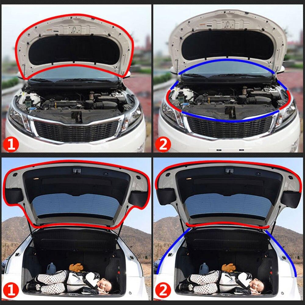 Vehemo мм 6 м 10 мм Маленькая D Полоса багажника универсальная приборная панель двери резиновые двери автомобиля уплотнительная полоса автомобиля оконные рамы автомобильные аксессуары