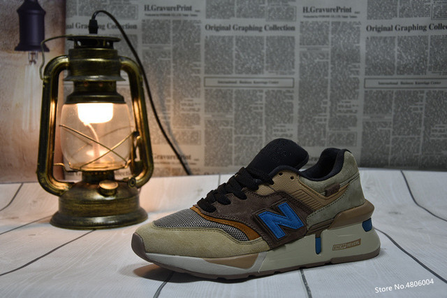 save off 03edf cda4b 2019 original New Balance NB997SKT Fusion kith x United Arrows men women  shoes sports and leisure running shoes