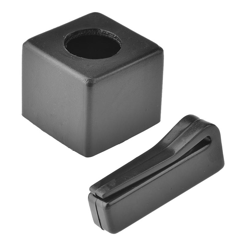 Pool Billiards Snooker Magnetic Cue Chalk Holder With Belt Clip Snooker Accessories