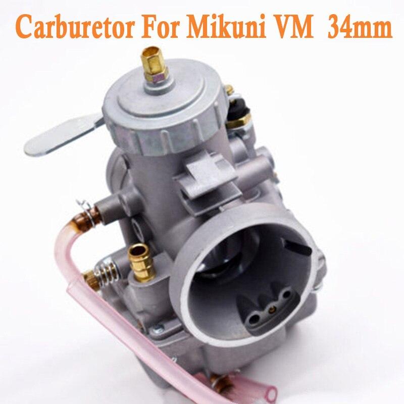 1 * remplacement de carburateur pour Mikuni VM 34mm VM34-168 à glissière ronde 42-6015 VM34SC