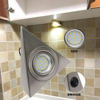 led warm Fashion For Camper Van Caravan Motorhome light Lamp Interior LED  Warm Light Spot Cabinet light 110V (3)
