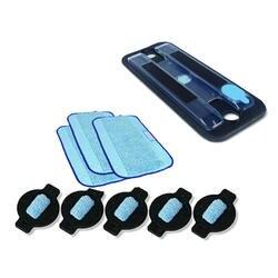 1 xwet лоток + 3 xWet Pro-Clean Mopping ткань + 5xwater фитиль Кепки для салфетки для робота-пылесоса iRobot Braava 380 380 t 5200 Mint5200C 4200A 4205