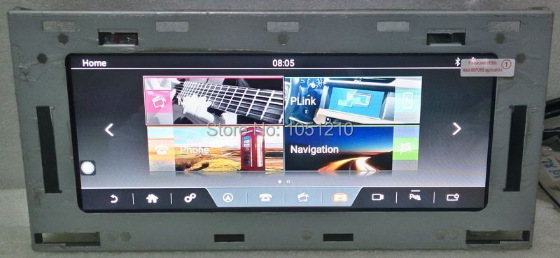 Ouchuangbo 10.25 autoradio audio gps pour Land Range Rover Sport L494 2013-2016 prise en charge android 7.1 wifi USB 2 GB + 32 GB