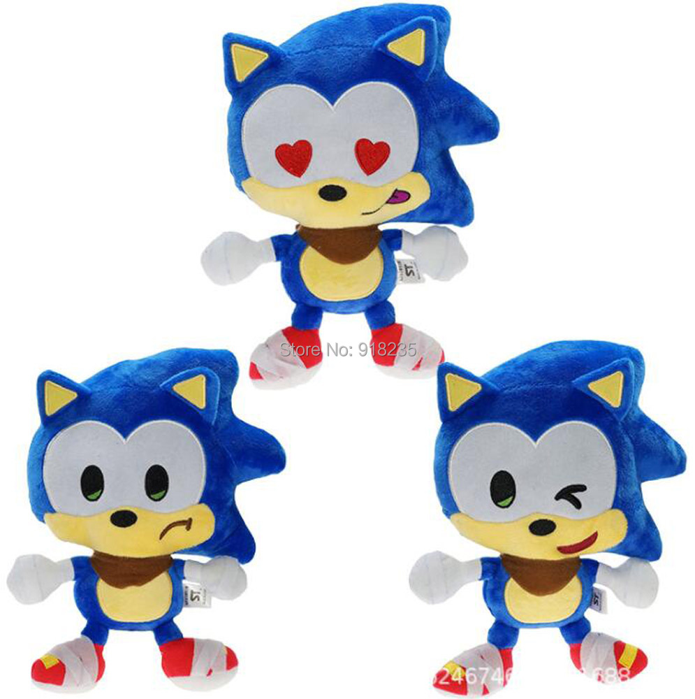 10 Lot Soic Tails Knuckles Silver Shadow The Echidna 9 23CM Plush Doll Stuffed Toy