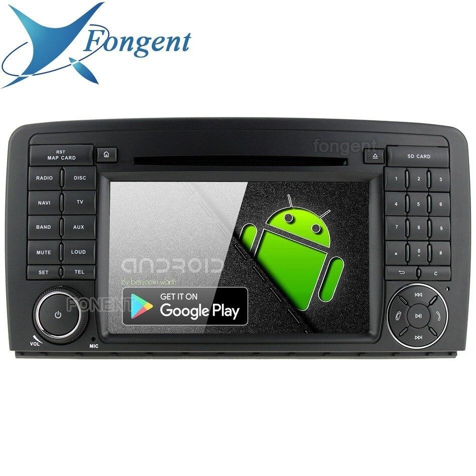 Android 9.0 Para Mercedes Benz R Classe W251 R280 R300 R320 R350 R500 PX6 64 Gb 8 Core RDS Carro unidade de cabeça DVD GPS Radio Player RK3399
