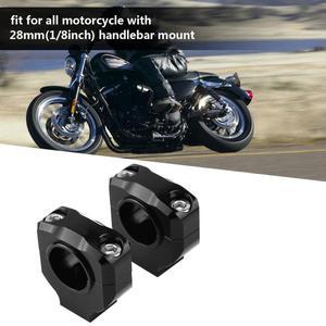 Image 5 - 1 para kierownica motocykla montaż zacisku podnośnik podnośnik do kierownicy 28mm kierownica motocykla podnośnik kierownicy podnośnik do kierownicy zacisk ze stopu aluminium uniwersalny