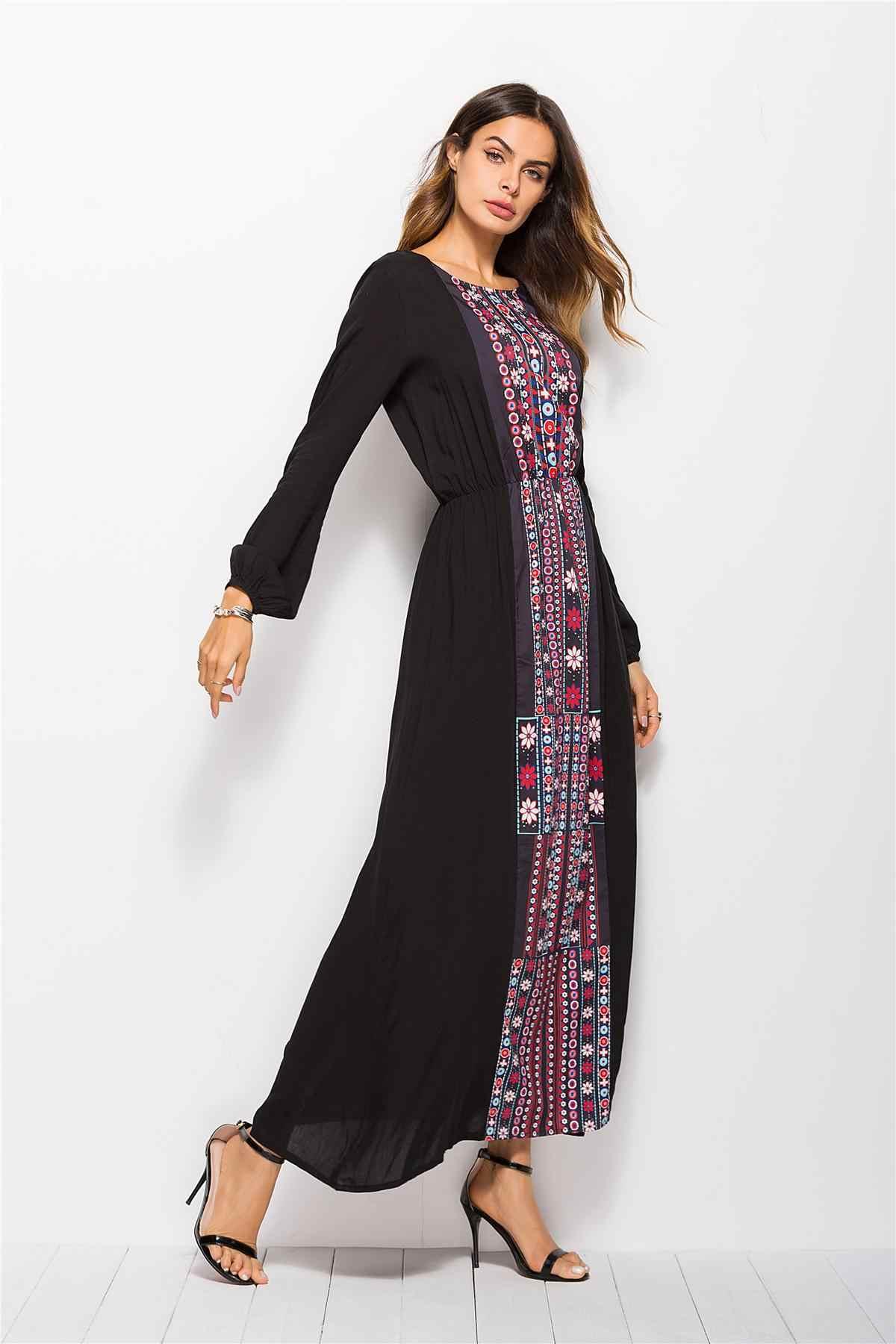 stylish muslim abaya print