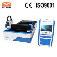 Big discount 220V 300W fiber laser cutting machine CNC metal cutter water chiller