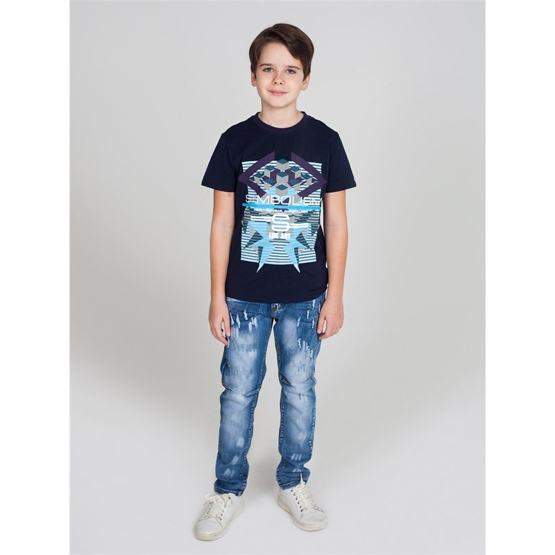 Jeans Sweet Berry Denim pants for boys children clothing kid clothes zip fly mid waist denim cropped pants for men