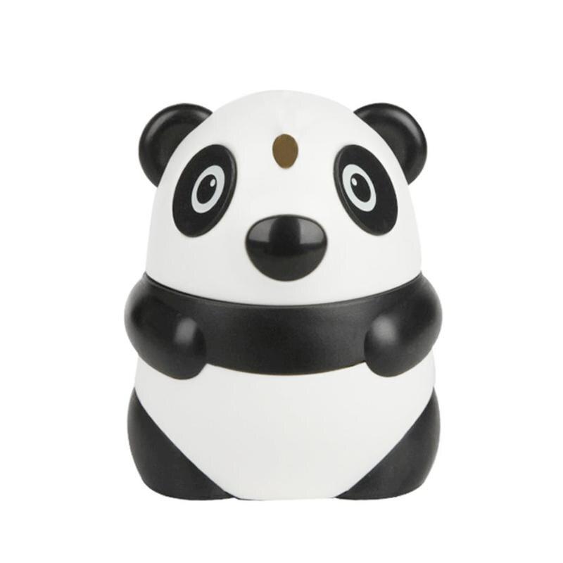 Cartoon Panda Automatic Toothpick Holder Wheat Straw Household Table Toothpicks Container Storage Box Dispenser anti-skid
