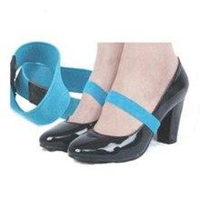 6a1211153 1 par 2*20 cm Elástico Cinta Sapato De Cor Sólida Cor Do Laço para Sapatos  de Salto Alto Decoração