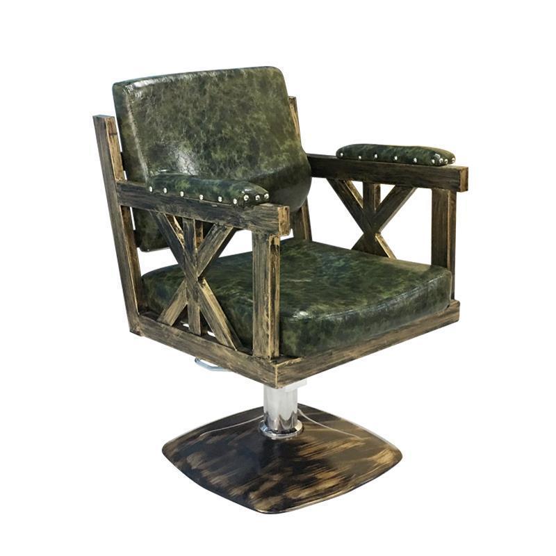 LFY moderne Designe barbier pivotant en cuir exécutif ordinateur bureau décoration Gaming salon chaise beauté synthétique métal