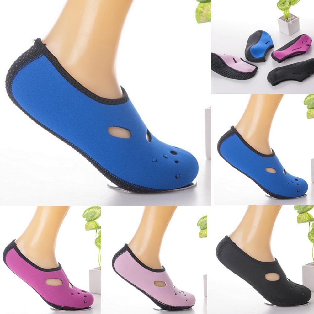 New Unisex Water Skin Shoes Aqua Socks Beach Men Women Non-Slip Swimming Socks Scuba Diving Surfing Beach Shoes Socks ~