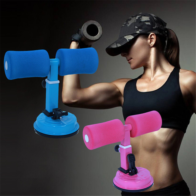 1 Pcs Portable Home Gym Sit Push Up Trainer Abs and Core Trainer Body Exercise Lazy Abdomina Muscle Exercise Fitness Equipment