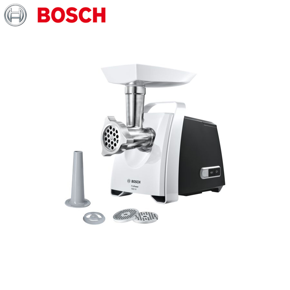 Meat Grinders Bosch MFW68100 home kitchen appliances electric chopper bear portable electric meat grinders 2l 300w 2 gears glass mini blenders 4 blades copper engine meat cutter kitchen appliances
