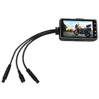 Motorcycle Camera DVR Recorder 1080P Front And Rear Dual Lens Driving Recorder