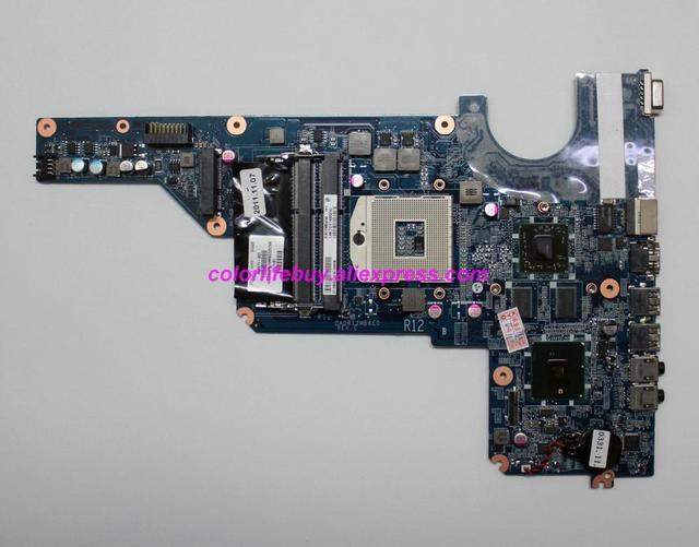 Echtes 636371 001 DA0R12MB6E0 REV: E HD6470/512 HM55 Laptop Motherboard für HP G4 G4T G7T Serie NoteBook PC