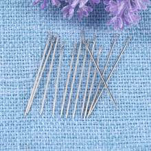 12 unids/set 2 agujas ciegos de agujero auto-roscado DIY costura Metal DIY bordado costura Pin para regalo Mon(China)