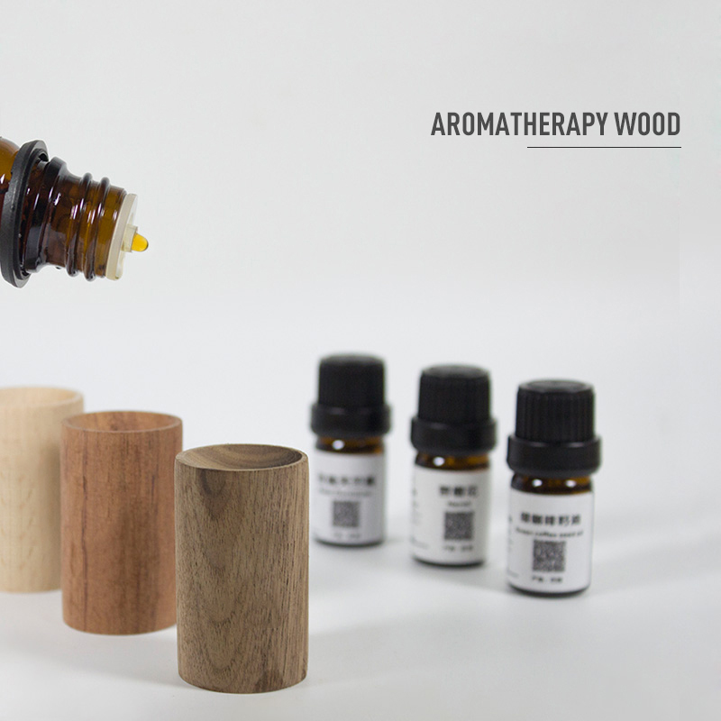 Wooden Essential Oil Diffuser Fragrance Oil Aromatherapy Diffuser Eco-friendly Stress Relief Refreshing Air Home Sleep Aid TSLM1