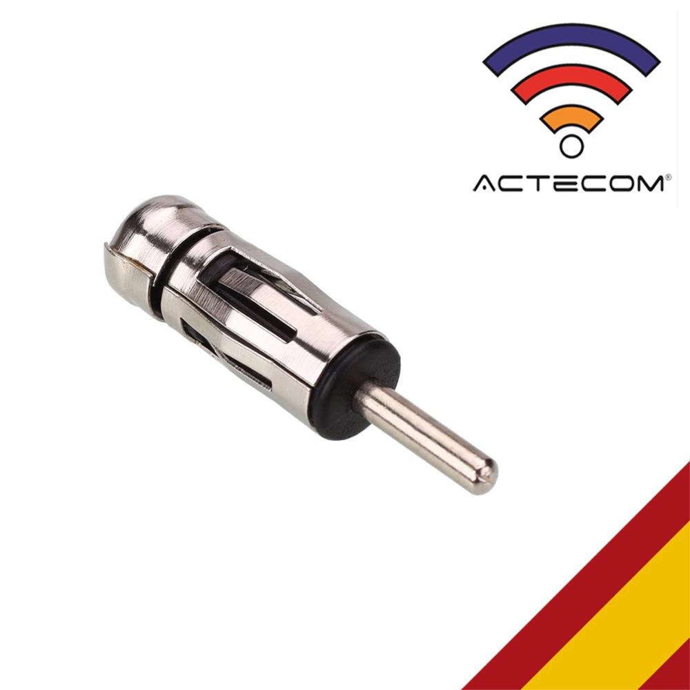 ACTECOM ADAPTADOR DE ANTENA ISO - DIN PARA RADIO DE COCHE CONVERSOR M86