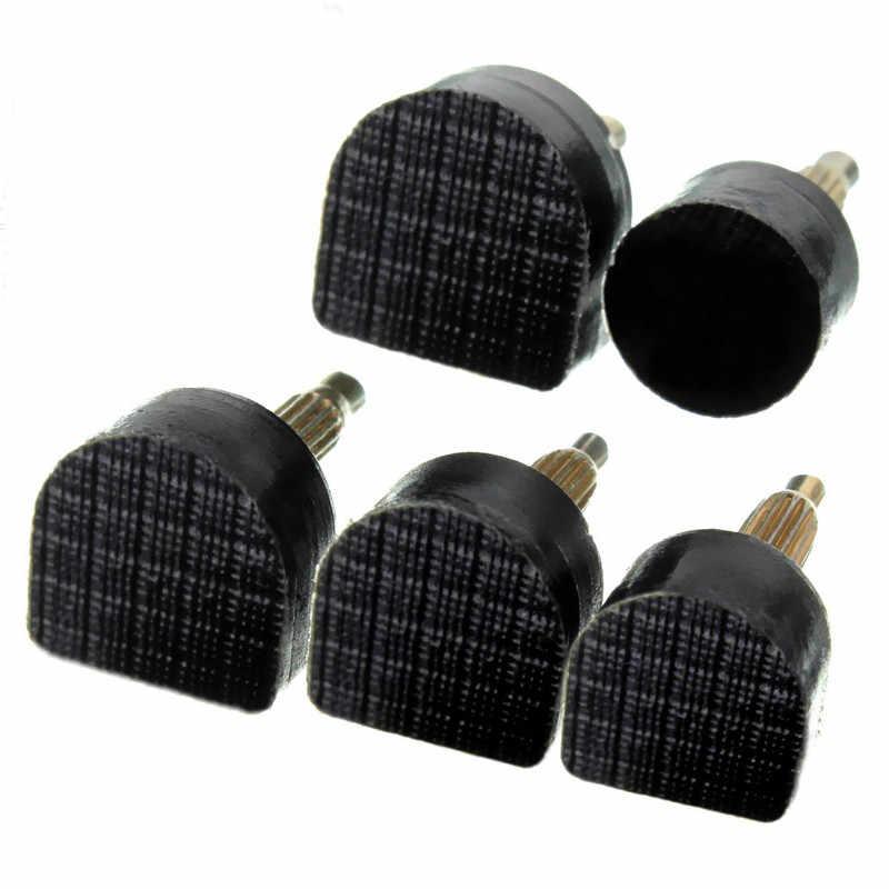 60 pcs 5 Dimensioni In Metallo Materiale Durevole Nero Spike Hosenail di Alta-Scarpe col tacco alto di Riparazione Punte di Ricambio Prezzo All'ingrosso