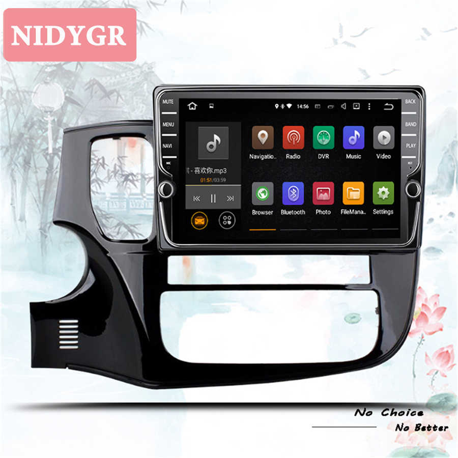 4 + 64GB Android 10.0 Autoradio Multimedia Video Player di Navigazione GPS Per Mitsubishi Outlander 3 2012-2018 lettore di Cassette auto dvd 2 din