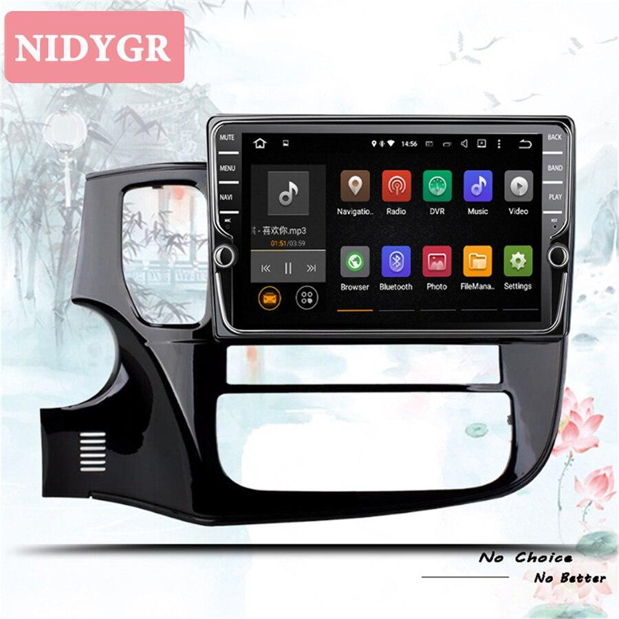 4 + 64 ГБ Android 10,0 автомобильный Радио мультимедийный видео плеер навигация GPS для Mitsubishi Outlander 3 2012-2018 Автомобильная кассета dvd 2 din