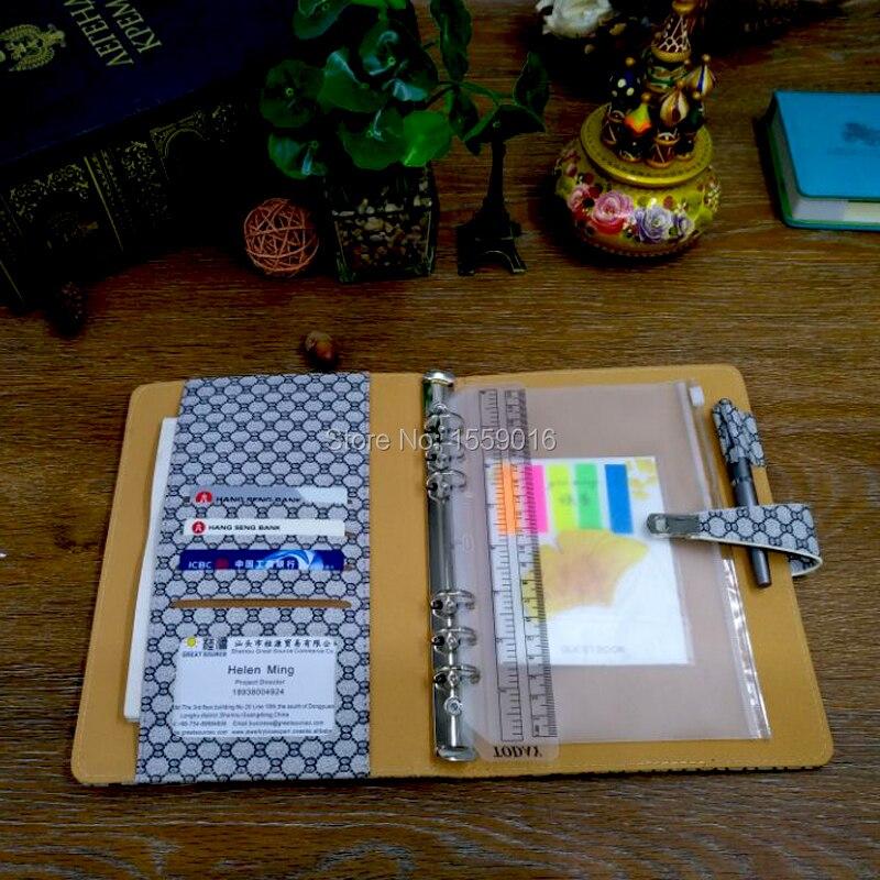 Great Source 2019 Planner A5 Notebook Gündəmi Doldurma 6 Üzük - Qeyd kitabçaları - Fotoqrafiya 4