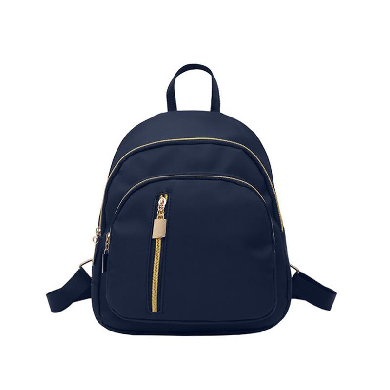 Water Resistant Nylon Women Backpack Female School Rucksack Girls Daily College Laptop Bagpack