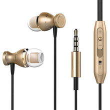купить Wired 3.5mm Stereo Music Earphones Portable Sport Running Headset With Mic Gaming In-Ear Earphones For Iphone Xiaomi Samsung дешево