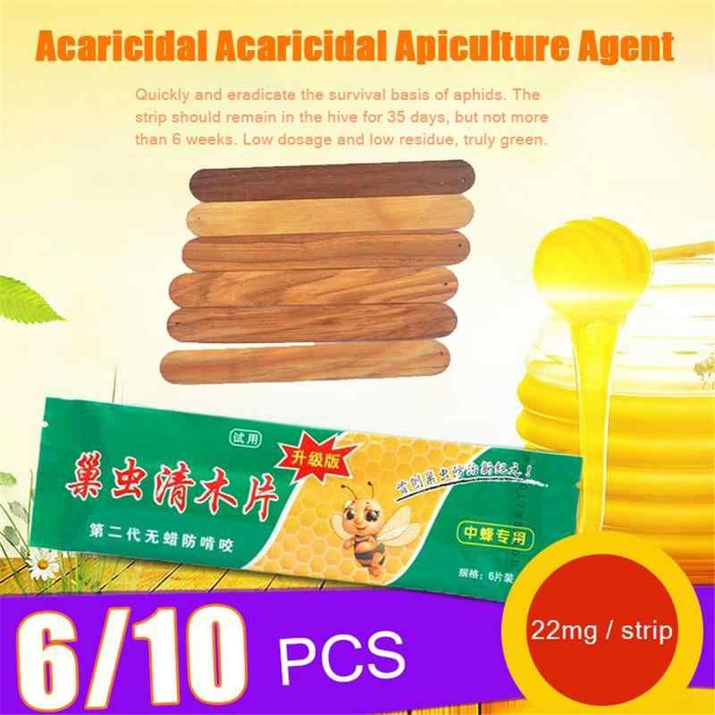6 adet/10 ADET çanta Arıcılık Arıcılık Ilaç Ahşap Şeritler Arılar Ilaçları Ilaçlar balmumu-moth Öldürmek yuva Böcekler Beekeeper40