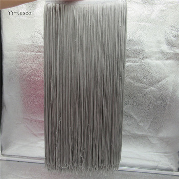 YY-tesco 10 Meter/lot 50cm Wide Lace Fringe Trim Tassel gray Fringe Trimming Lace For DIY Latin Dress Stage Clothes Accessories