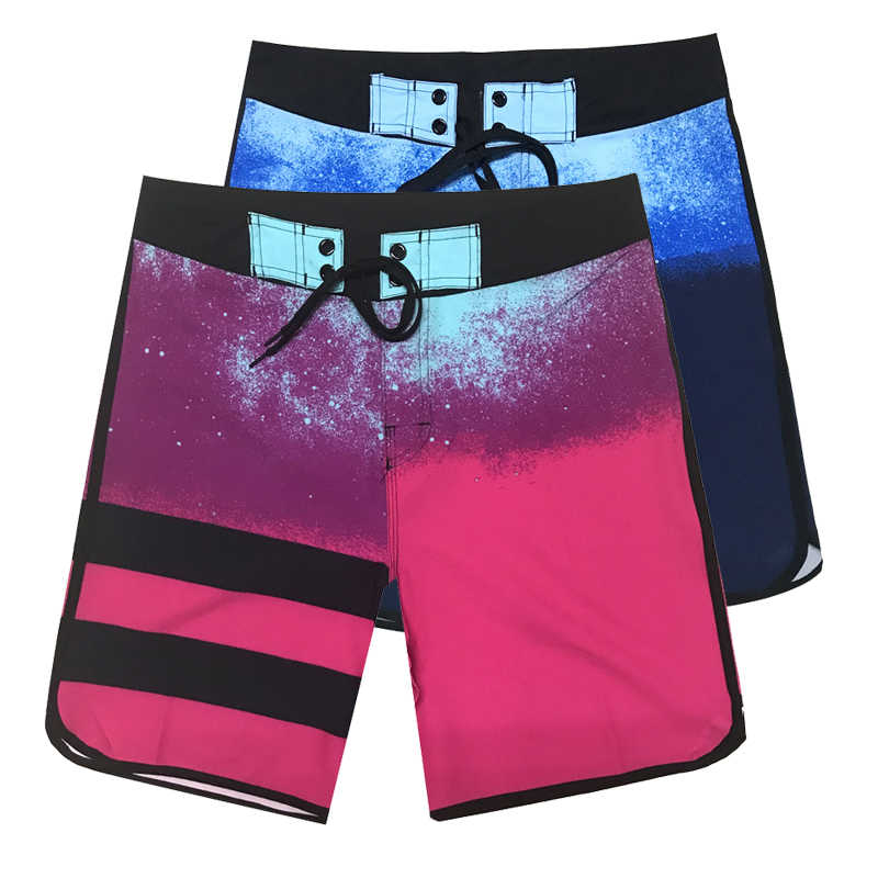 Men's Swim Suit Plus Size Swim Shorts Galaxy Printing Trunks Shorts Board Swimwear Summer Sport Running Gym Swimsuit Shorts 2019