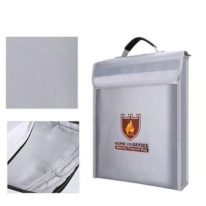 Image 4 - حريق حقيبة مستندات حامل الحقيبة الرئيسية مكتب حقيبة آمنة النار مقاومة للماء مجلد ملفات حقيبة التخزين الآمن
