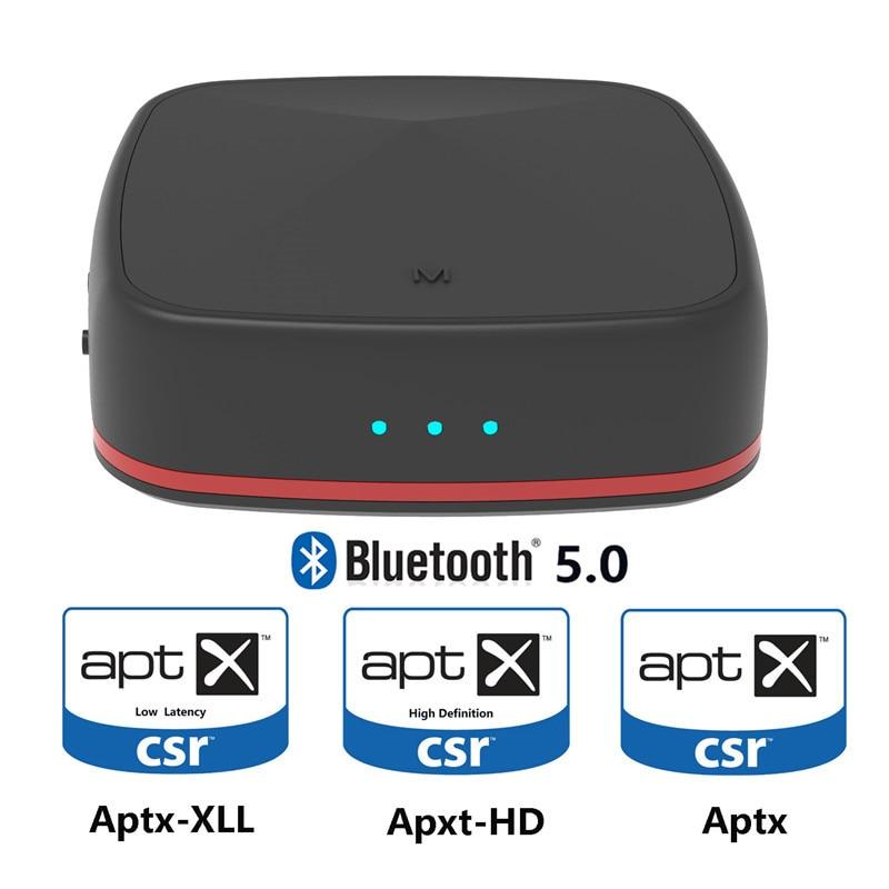 AUX Bluetooth 5.0 adaptateur Bluetooth récepteur Audio Aptx HD transmetteur SPDIF optique Toslink adaptateur pour TV casque barre de son