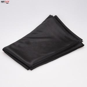 Image 5 - HIFIDIY altavoz en vivo de tela tipo rejilla, tela estéreo, Gille, accesorios de protección, poros suaves negros, 1,5x0,5