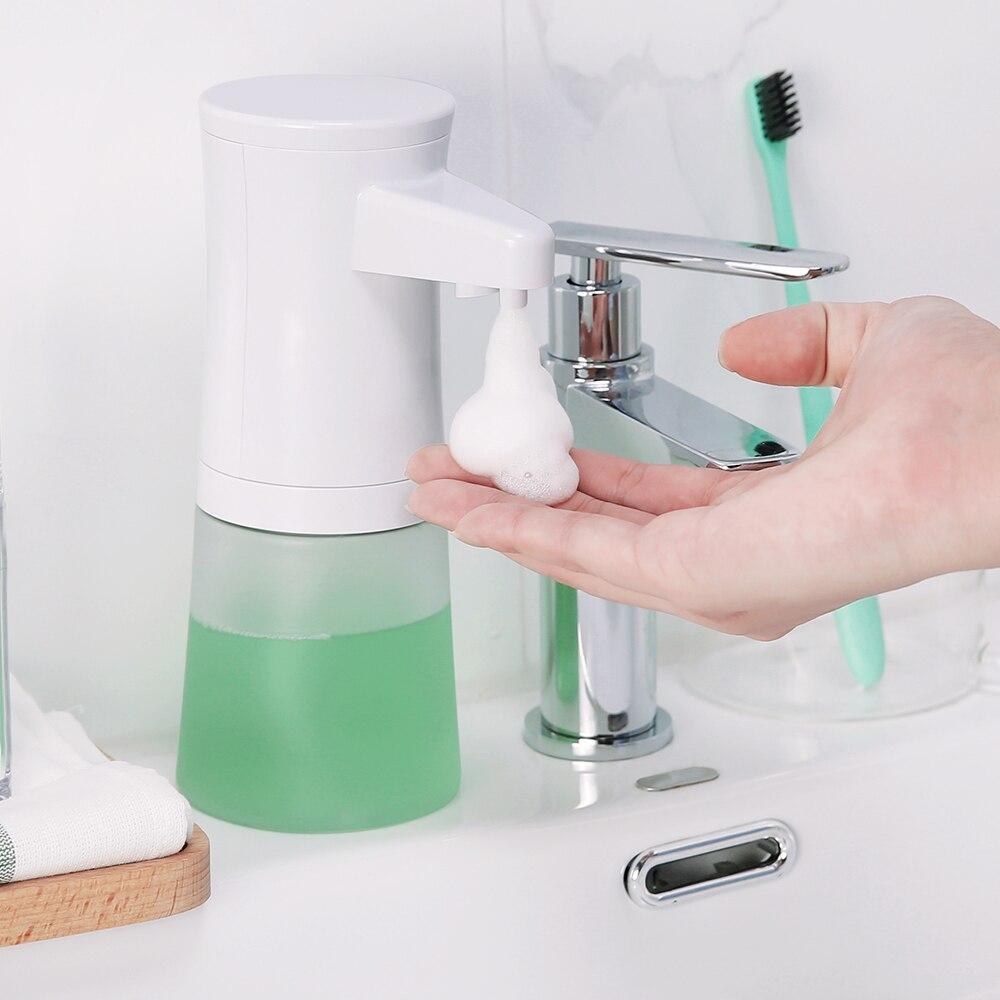 Liquid Seifenspender Smart Automatische Universal Schaum Seife Dispenser Infrarot Sensing Für Shampoo Dusche Bad Küche Hand Waschen Seife Spender Schrumpffrei Badezimmerarmaturen