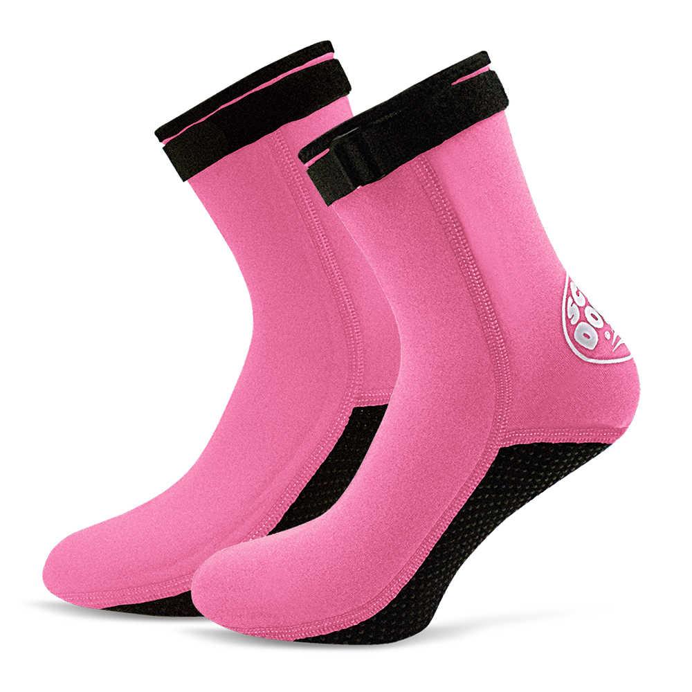3MM Neopren dalış çorapları Çizmeler su ayakkabısı Plaj Patik Dalış Dalış Sörf Botları Erkekler Kadınlar için