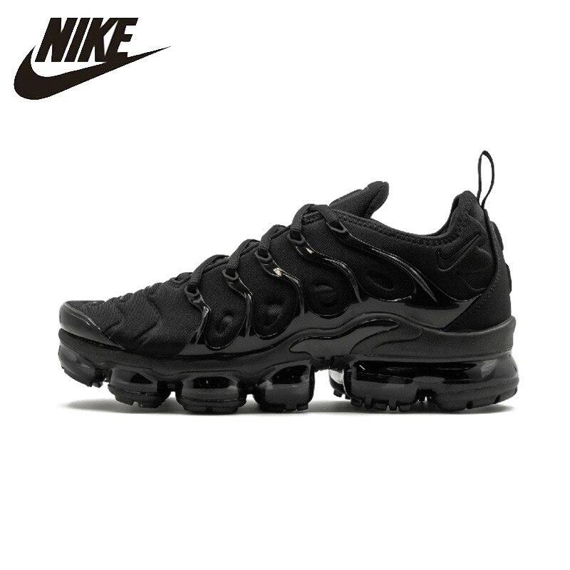 Nike officiel Air vapeur Max Plus femme chaussures de course respirant Sports de plein Air baskets anti-dérapant 924453-004