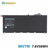 HONGHAY 90V7W Bateria Do Portátil para Dell XPS13-9343 XPS13 9350 JD25G DIN02 P54G 7.6V 56Wh