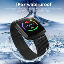 цены Smart Watch Y7 Men Women Fitness Tracker Watch Blood Pressure Waterproof IP67 Smartwatch GPS Activity Tracker For Android IOS