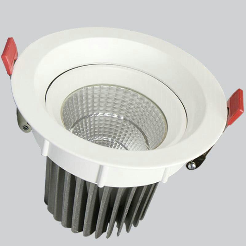 10 pièces 30 W COB LED Downlight LED plafonniers AC85V-265V montage en Surface armoire mur Spot vers le bas lumière plafonnier éclairage à la maison