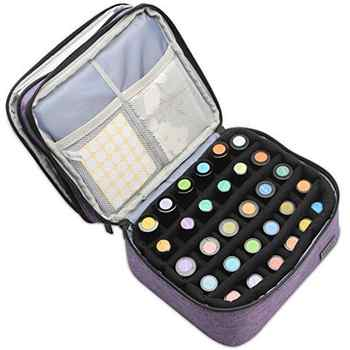 5-30ml Essential Oil Case 30 Bottles Perfume Essential Oil Box Travel Portable Carry Holder Nail Polish Storage Bag With Roller