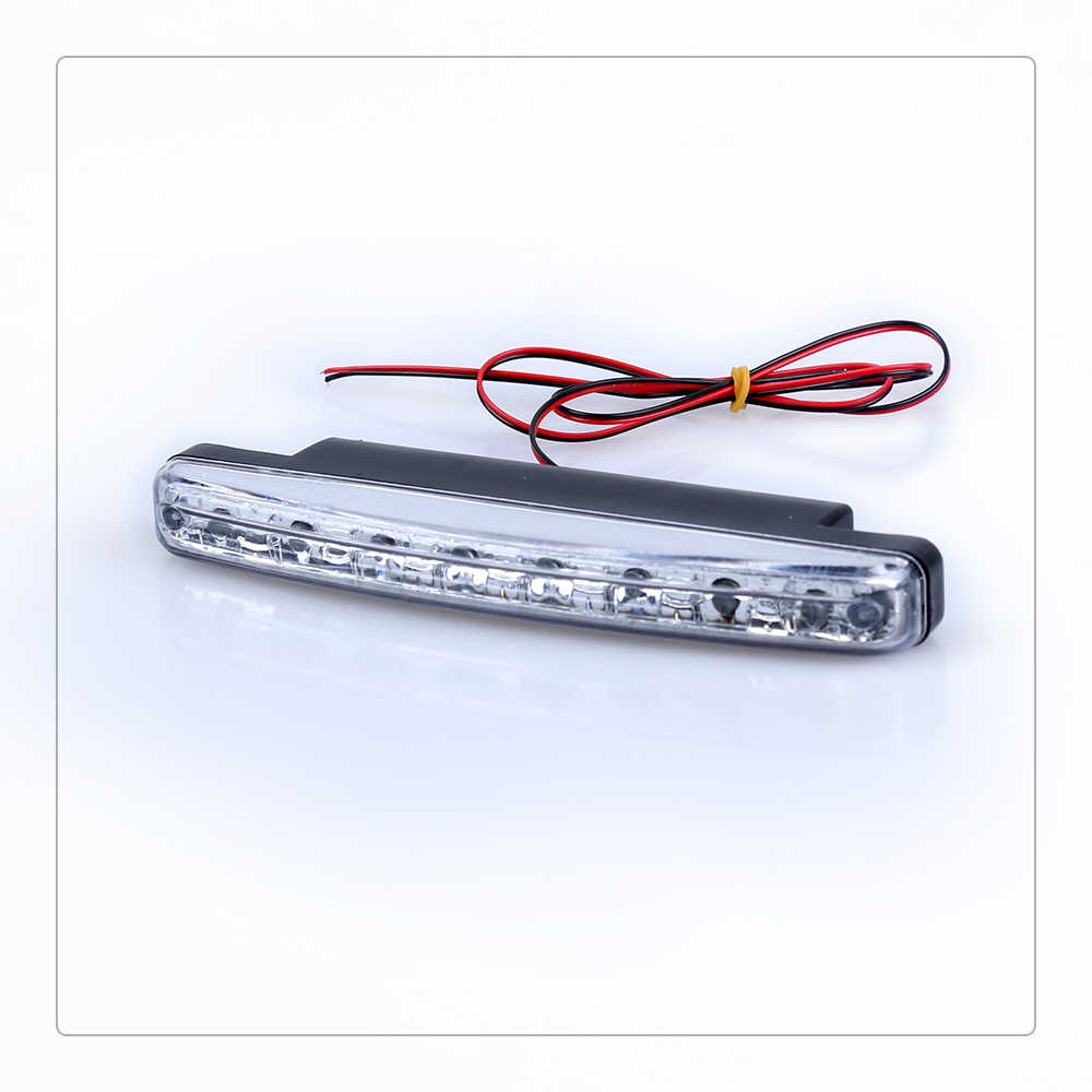 DRL LED Car Daytime Running Lights 8 LEDs  Auto Fog Light Driving Lamps Car-syling Super Bright