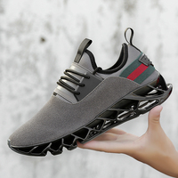 2019 New Men Running Shoes Sport Shoes Sneakers Male autumn winter Trending Style Blade Shoes leather Outdoor Walking Jogging