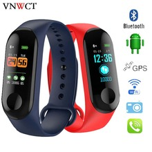 M3 plus Smart Band Watch Color Screen Wristband Heart Rate Activity Fitness tracker Smart Electronic Bracelet VS Xiaomi Miband 2