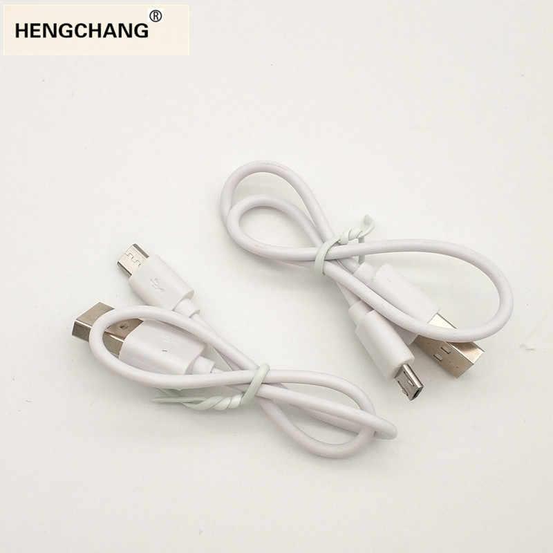 30cm micro usb cable krótki 1A kabel do ładowarki kabel do zasilania banku grzejnik nawilżacza urządzenie usb 2 sztuk