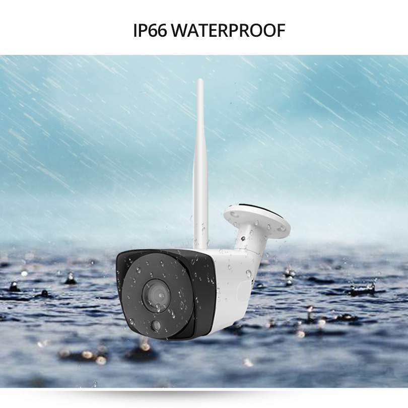 Additional Camera to Work with Wetrans H 265 WIFI NVR Wireless IP Camera Audio HD 1080P